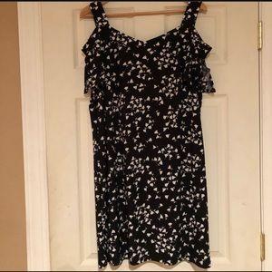 Woman's Dress Barn Cold Shoulder Dress